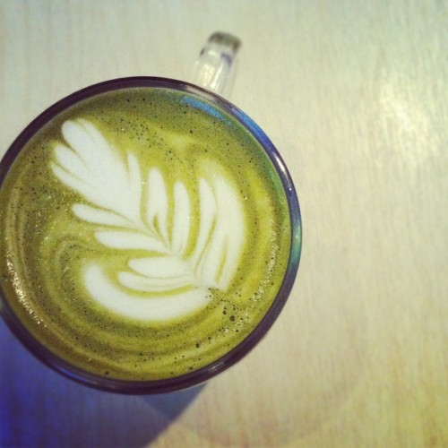 matcha-maccha:  Matcha Latte @ Hit the Road, Hong Kong