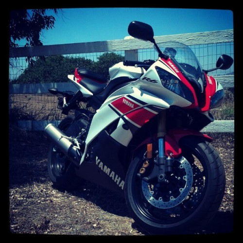 #yamahar6 #anniversary #yamaha #sport #bike Final ride. (Taken with instagram)