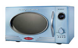 Retro Style Microwave Oven by Nostalgia Electrics Can be found here