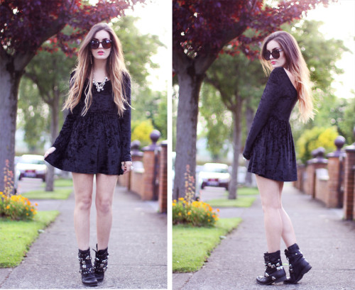 Outfit of the day. (by Anouska Proetta Brandon)