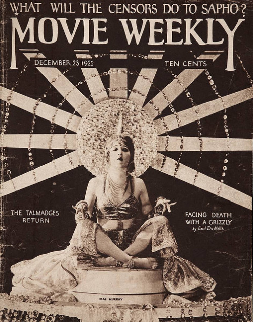 Movie Weekly with Mae Murray, 1922