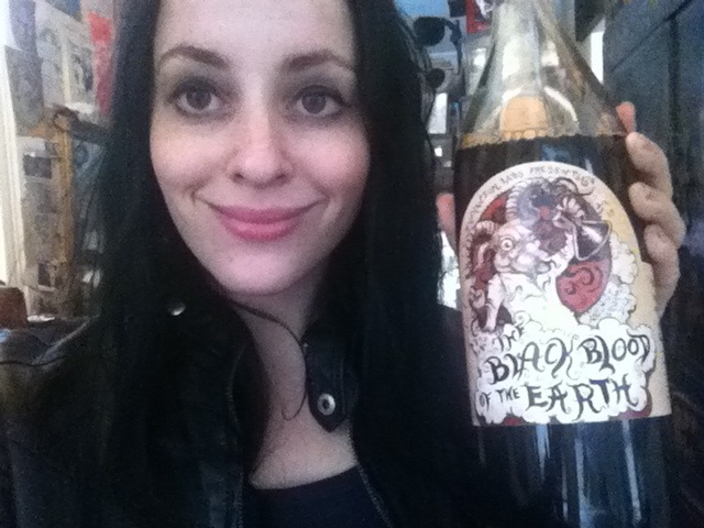 mollycrabapple:  Black Blood of the Earth arrived