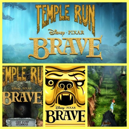 Hell yeah I'm excited!! #TempleRun #Brave #Pixar #Disney #PixarBrave #App (Taken with instagram)