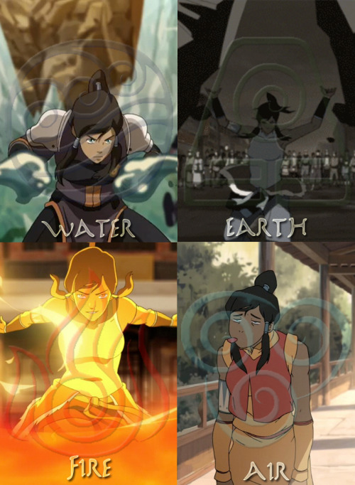 Master of all four elements…ish…