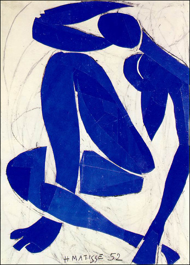 matisse  blue jazz
