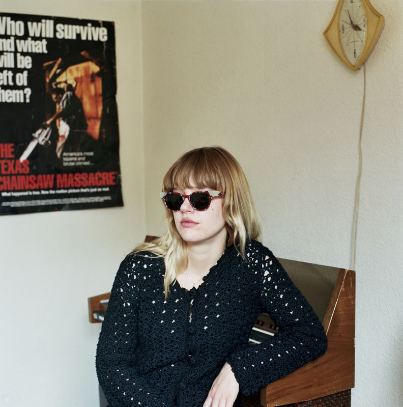 Jennifer Calvin of Bleached, 2012