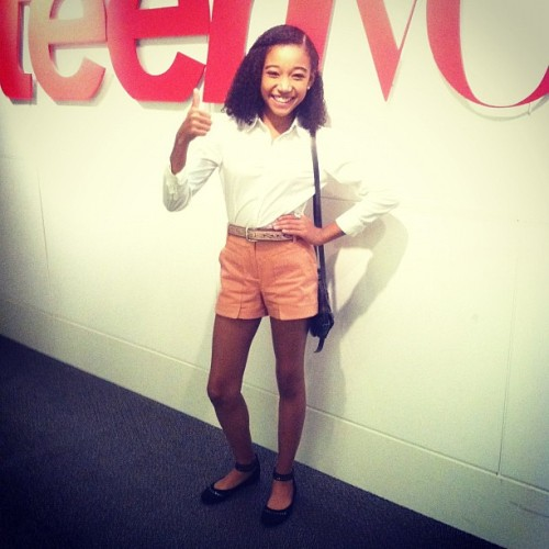 teenvogue:  Inside Teen Vogue: A special visit from Amandla Stenberg aka Rue of The Hunger Games
