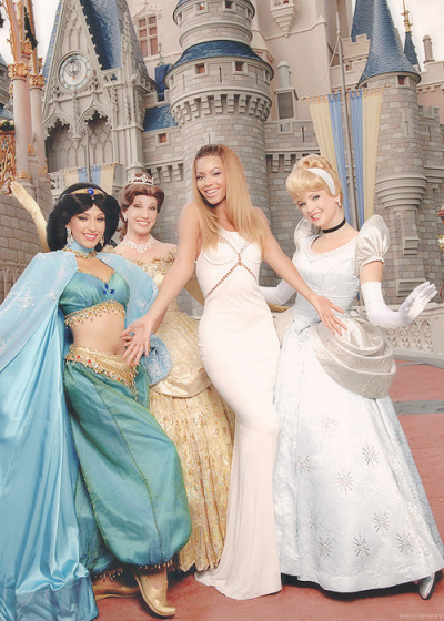 theprincessblog:  Beyonce is my favorite Disney princess.