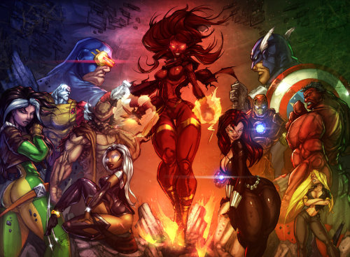 X-Men Vs. Avengers by Vest Want more in-depth Temporal Flux? Checkout the original blog