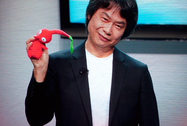 wired:  Follow Wired's live blog of the Nintendo E3 conference here! We <3 Miyamoto.  OH MY FUCKING GOD PIKMIN THE BANE OF MY CHILDHOOD LIFE