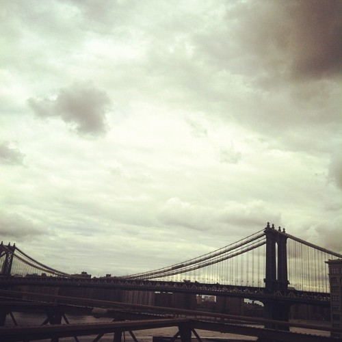 Manhattan bridge  (Taken with instagram)
