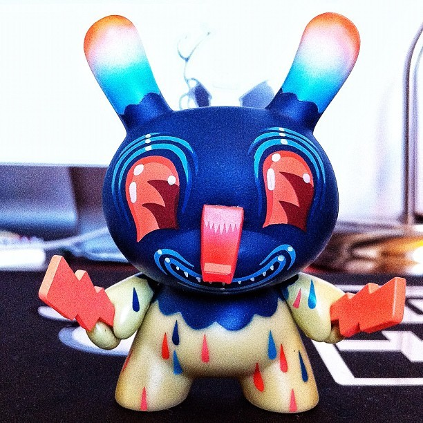 #Dunny of the day (day 109) - Dunny Series 8 (2011) by Travis Lampe (Taken with instagram)