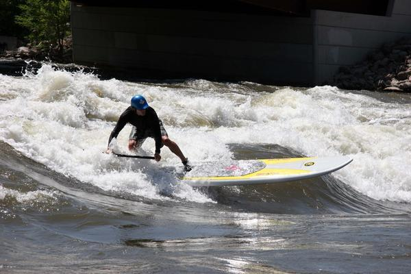 Stand-up paddling riding a wave of popularity in Colorado The stand-up paddling revolution is the fastest-growing section in paddle sports, and Colorado is ground zero for the small but swift-swelling whitewater segment in the vertical paddling trend. Born in Hawaii and only recently imported stateside, stand-up paddlers are flooding Colorado's rivers and streams. Stand-up paddling can be learned in minutes on a lake and hours on a river. Unlike kayaking, which requires a technical roll to progress into more difficult whitewater, stand-up is more approachable.