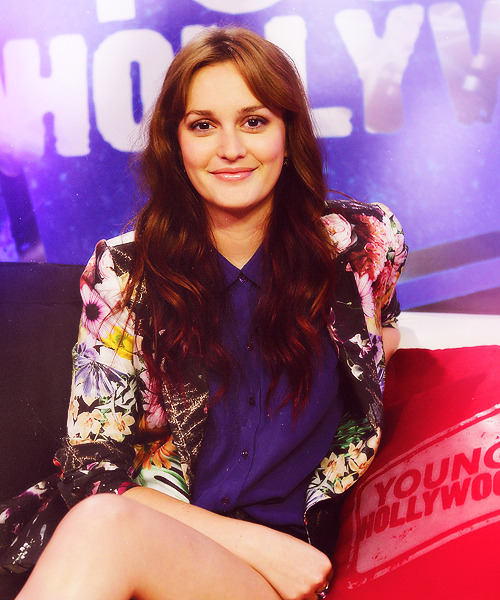 Leighton Meester | Young Hollywood Studio visit (2012)