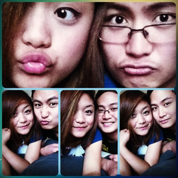 At last! Re-united with my BestTwin & BestFriend, Balde :D  (Taken with instagram)