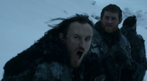 tumblrofthrones:  The face every single one of you would be making if you heard three blasts of the horn.