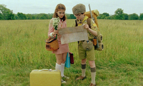 One of the most defining aspects of Wes Anderson's filmography is his soundtrack. If you could control the music, what songs and artists would you like to include? Kara Hayward: Personally, I'd like something rather perky. During a slow motion scene, I'd use some Lana Del Ray; something that is fun and also very indie. Jared Gilman: If it's a shot of some cool kid walking across the hallway, maybe put some Black Keys in the background.  The 'Moonrise Kingdom' kids act like real teens and talk soundtrack choices