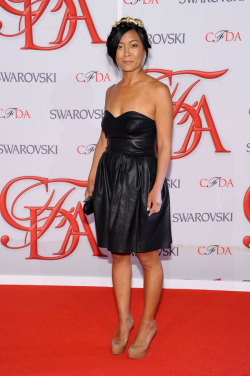 Eugenia at the CFDA Awards last night!