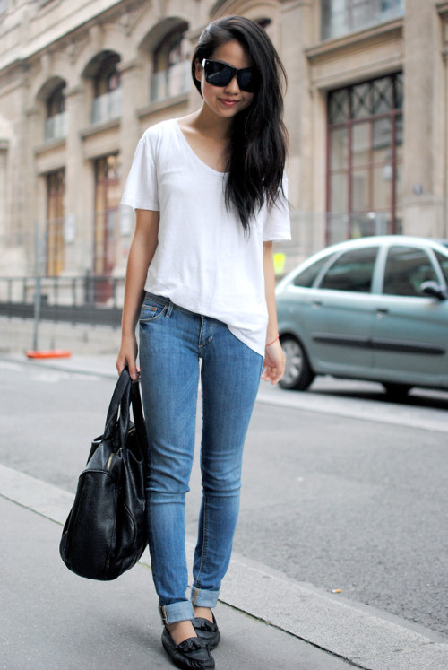 lookbookdotnu:  Just simple (by Meijia S)