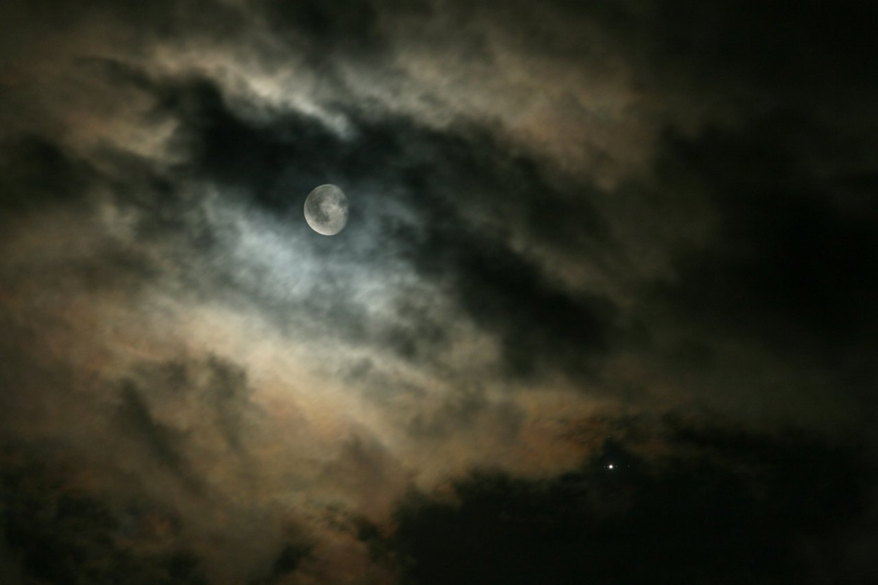 n-a-s-a:  Moons and Jupiter  Credit & Copyright: Anne Riou