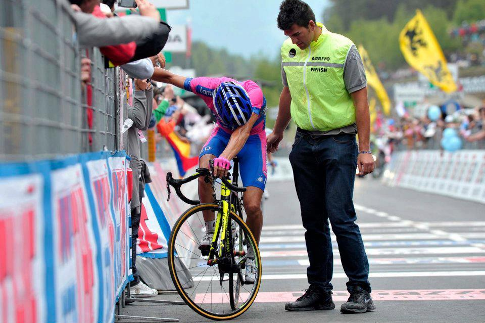 someoneisalwaysfaster:  giro 2012, stage 19 alpe di Pampeago stage finish