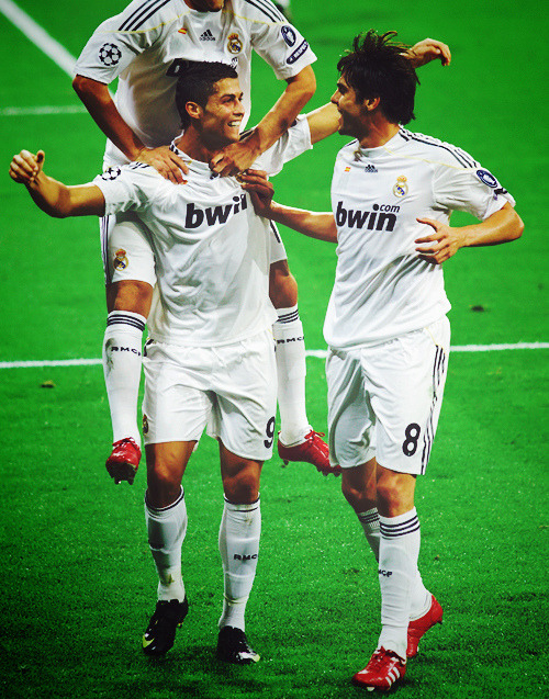 football-:  Kaka, Ronaldo and Benzema by Uncle_Ka on Flickr.
