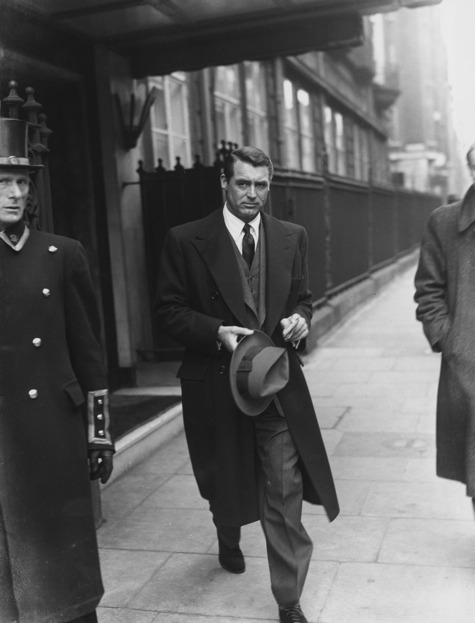Cary Grant: the classiest man ever.