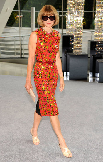 Anna Wintour in Marc Jacobs at the 2012 CFDA Awards  Source: Getty