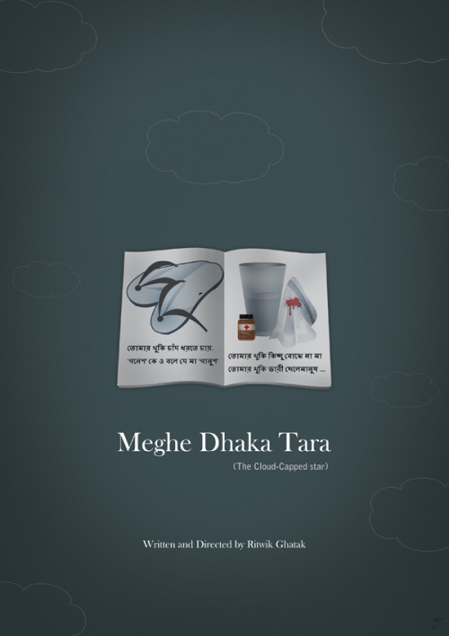 Meghe Dhaka Tara [1960] by ACR  First Published in Outlook exclusively for the Cinema Century Special Issue