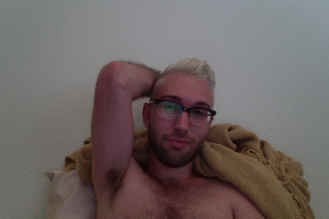 i woke up with white hair.