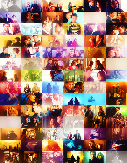 castle & beckett; one cap per episode
