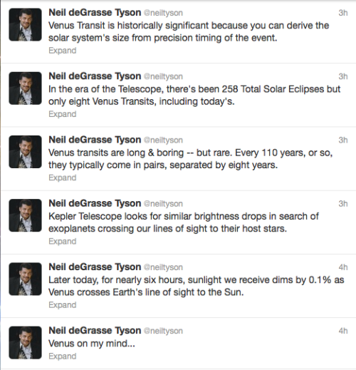 silentworldpilot:  From the man himself, Dr. Neil deGrasse Tyson.