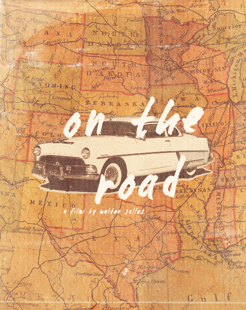 jawnhatson:  » On the Road, W. Salles  Based on the Jack Kerouac classic.