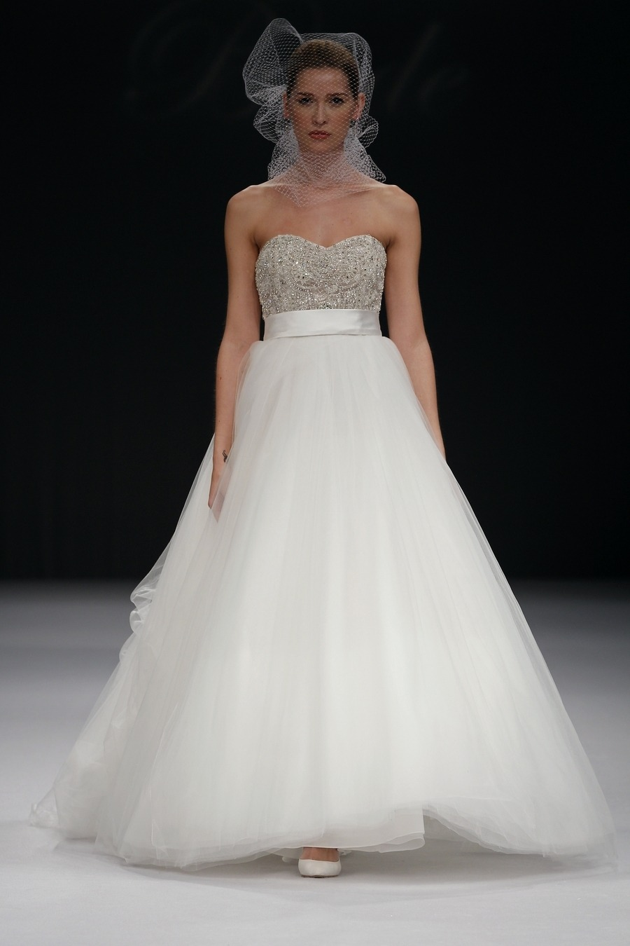 I am in love with this Badgley Mischka AVA Bridal gown.