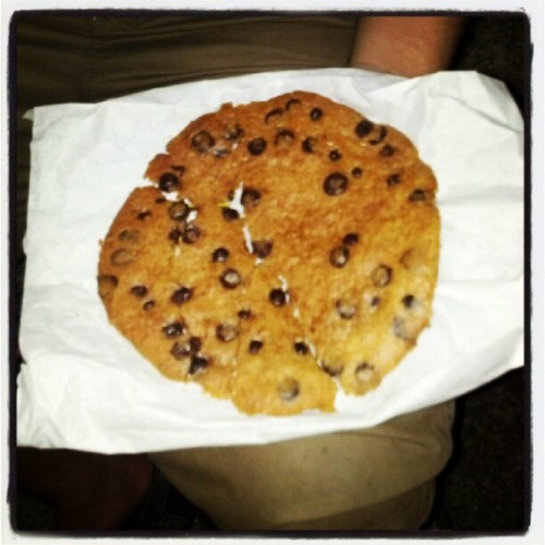 Jumbo cookie from lpq (Taken with Instagram at Marine Drive)