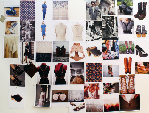 Loeffler Randall's gorgeous pre-fall inspiration board.