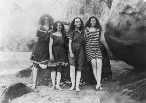 Ladies at Magnetic Island, c. 1890
