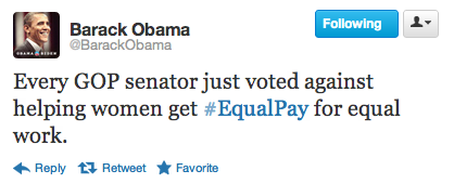 "slytherintimelord:  theriotmag:  lickystickypickywe:  barackobama:  If you think that sucks, here's where to say so.   I just can't. How can you vote AGAINST? What reasoning (if they are capable of any) would you use to vote against?  I'm assuming the logic was ""If we pay them more, they might use the money to get whore pills.""  What…..  The GOP doesn't actually believe that woman are being paid less. They believe that men work more hours than women, which is why men are paid more. It's pathetic. Legit."