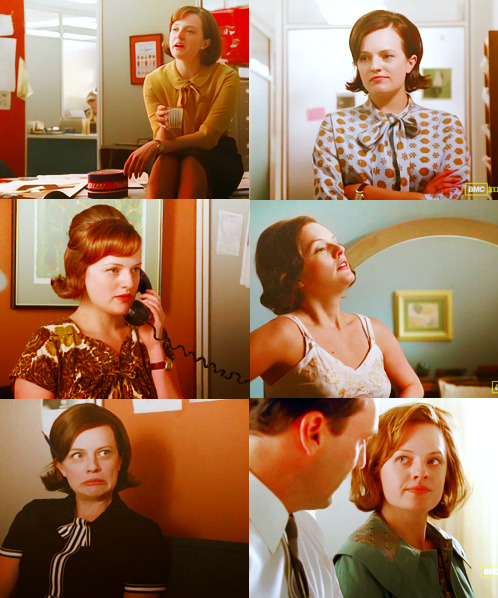 paperback-raita:  Favourite Female Characters : Peggy Olson - Mad Men  NO ME DEJES, POR FAVOR :'(