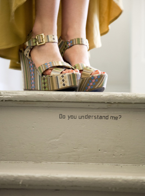 We're head over heels for ModEmployee Julie's I See the Pattern Wedges. For more Pittsburg-inspired styles, shop Three Rivers Requisits»