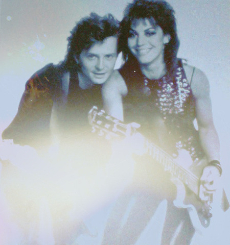 joanjettandtheblackhearts:  Joan and Michael.  ^^