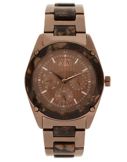 Armani Exchange Espresso Bracelet WatchMore photos & another fashion brands: bit.ly/JhJCFW