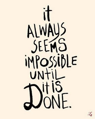 Not Impossible.  #30daysoffit