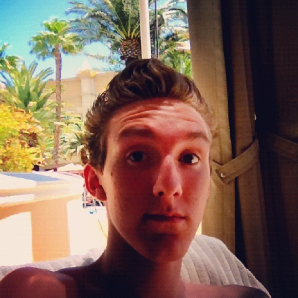 Hangin at the pool! #vegas #vacation #pool #mandalaybay (Taken with Instagram at Mandalay Bay Pool-The Beach)