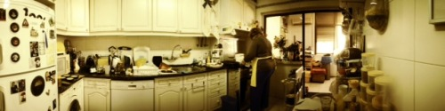 In da kitchen