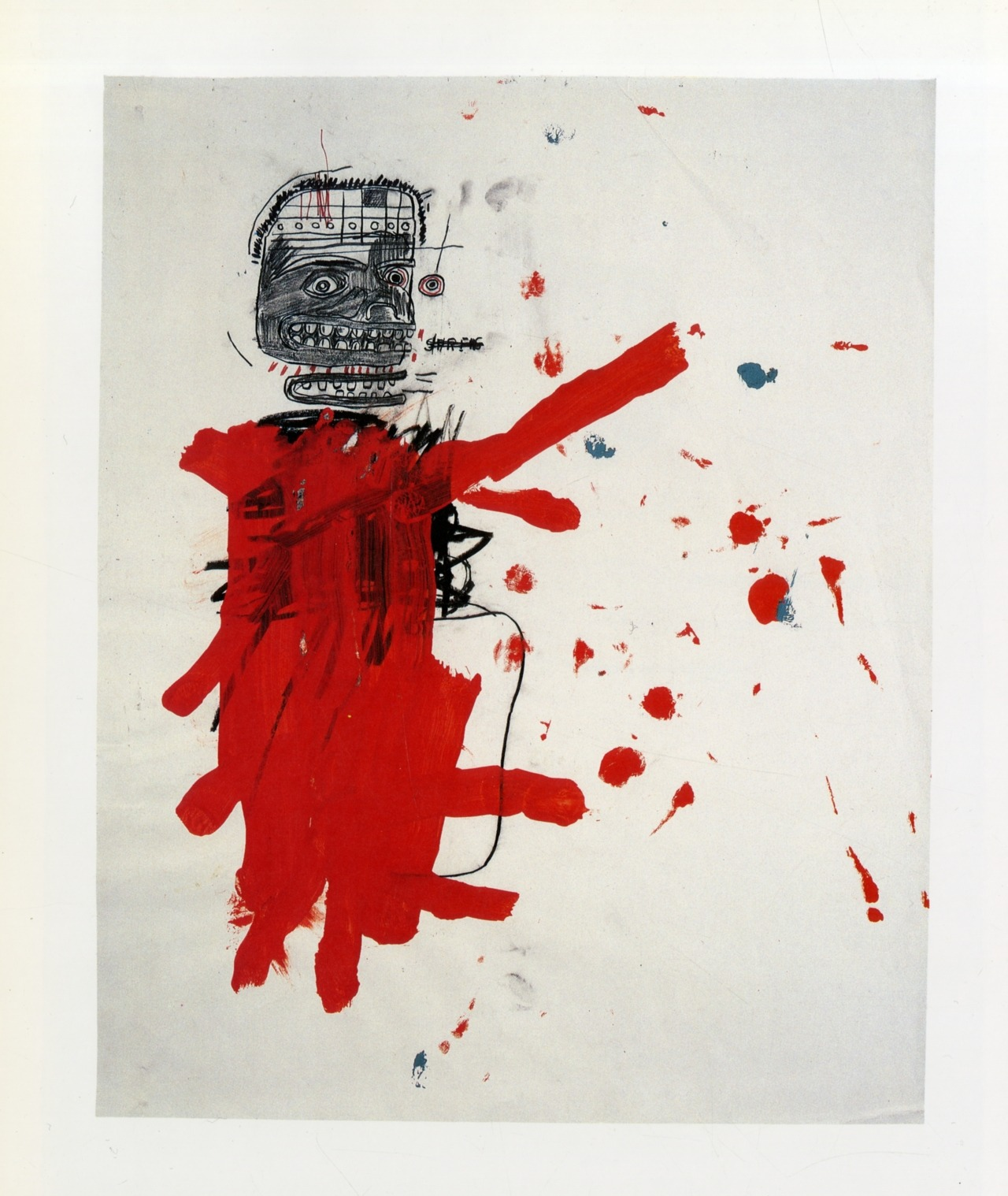 heartofalion:  Untitled (1984) -  Jean Michel Basquiat