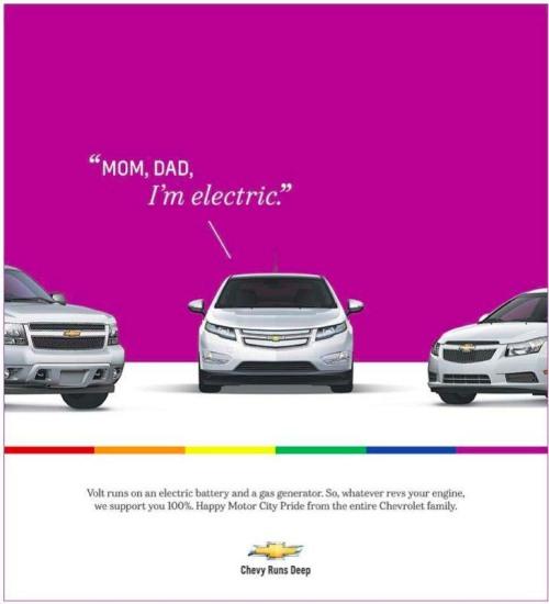 GM gay volt motor city pride