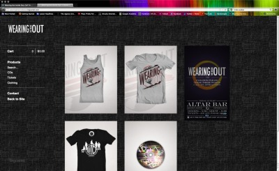 In case you haven't seen or heard, we have some new t-shirts and tank tops coming in for our June 29th show at Altar Bar! Due to a huge amount of interest from our friends and fans, they're now available for pre-order in the WIO Online Store. Why pre-order?? 1. To guarantee that you get a shirt. They WILL sell out. 2. FREE SHIPPING!! Head to the http://wearingtheinsideout.bigcartel.com and go wild. ;)