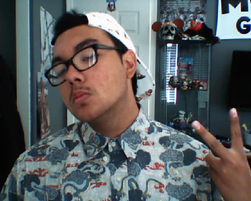 My shirt has dragons on it and my hat has Hawaiian bitches on it Guess how much I spent in total on these two  No seriously guess