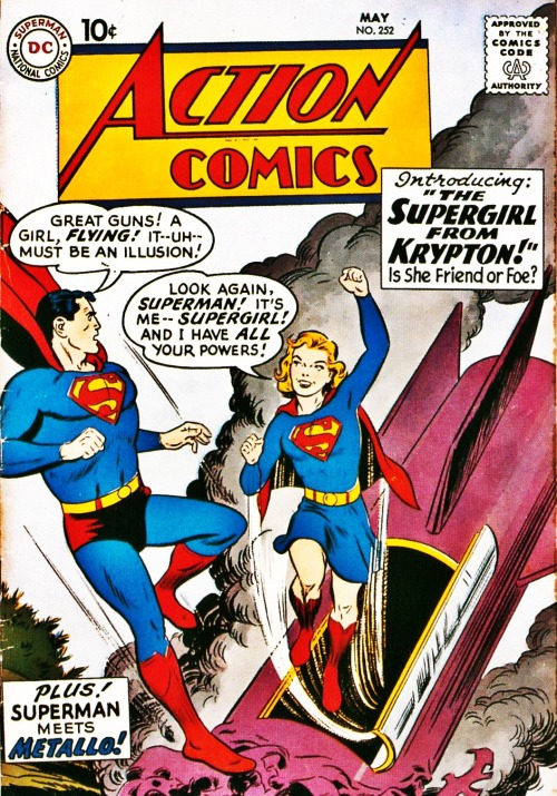 Love Is My Kryptonite…  Action Comics #252 May, 1959